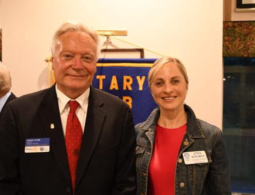 Jitka Borowick New President of Hyannis Rotary