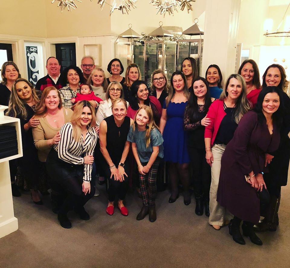 Cleangreen staff at its December 2019 holiday party.